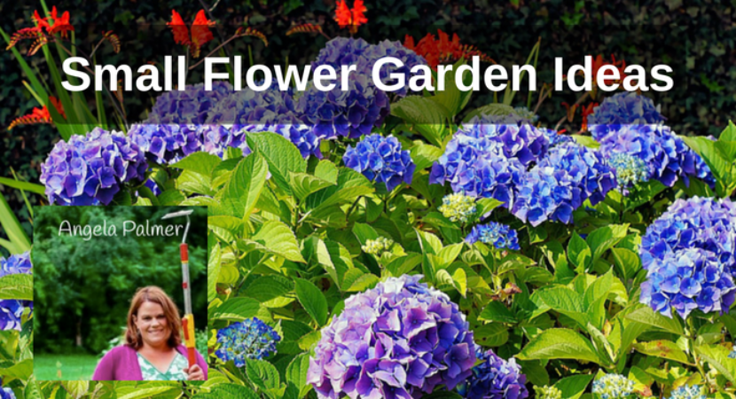 Small Flower Garden Ideas With Angela Palmer